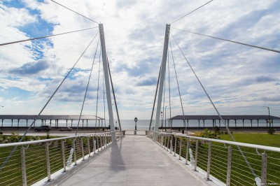 Suspension bridges utilize stainless steel structural rods in their design and implementation.