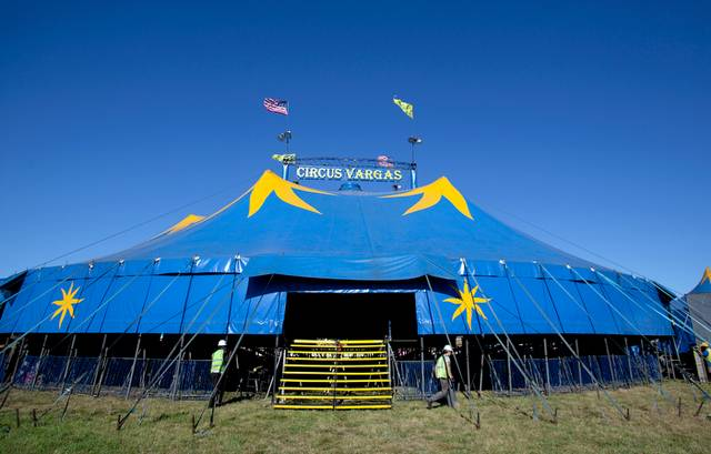 Key items to erect your circus tent.